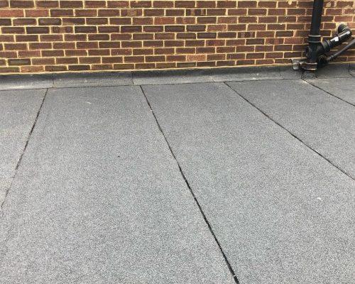 cousins flat roof