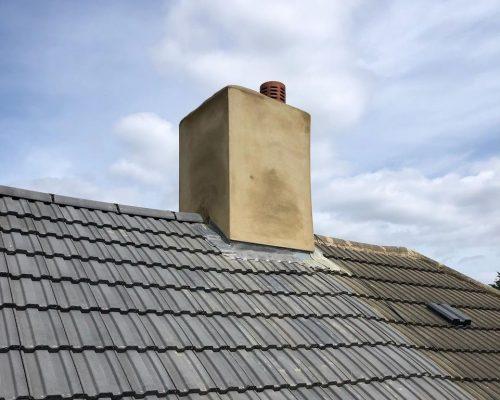 lead work chimney