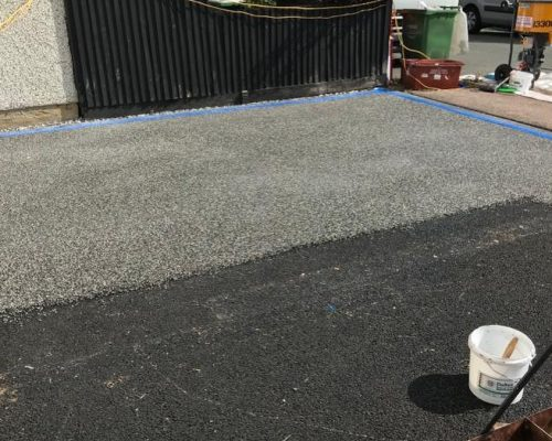 resin driveway install sidcup
